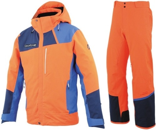 []19/20] ONYONE DEMO OUTER JACKET/PANTS ONP92052 F.ORANGE