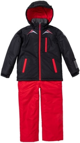 [18/19] 아동 스키복 JUNIOR SUIT BLACK-RED