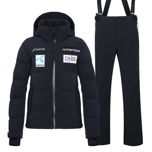 피닉스 스키복 2021 NORWAY TEAM SKI DOWN WEAR_BK