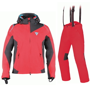 1617[DAINESE]SKYWARD D-DRY JACKETFIRE-RED/BLUE-JEWEL/BLACK  1617[DAINESE]PANTSFIRE-RED/BLACK