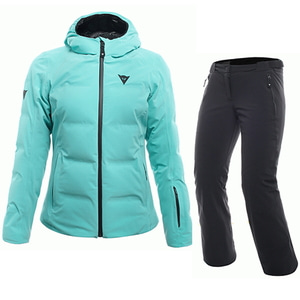 다이네즈 1718 DAINESE 여성 스키복 SKI DOWNJACKET LADY WATERFALL + HP2 P L1 STRETCH LIMO