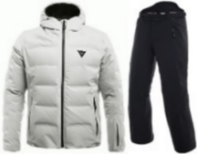 [19/20] 다이니즈 SKI DOWNJACKET WHITE + HP2PL1 STRECH-LIMO