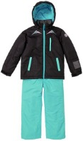 [18/19] 아동 스키복 JUNIOR SUIT BLACK-MINT