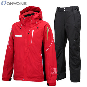 15/16 ONYONE 스키복 세트 (ONJ98302 055[Red] + ONP98350 009[Black])