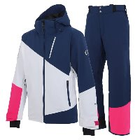 온요네 스키복 2021 TEAM OUTER SKI WEAR_WHITE_NAVY
